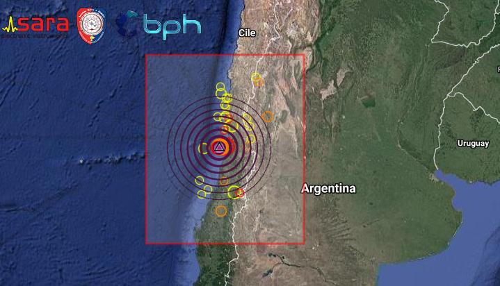 Risultati immagini per terremoti in cile 2017