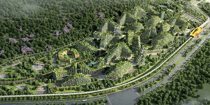 Si chiama liuzhou forest city la citt foresta made in for Liuzhou forest city