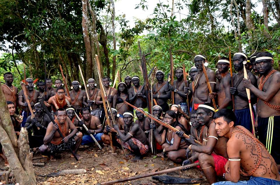 Голые племена амазонии Вами