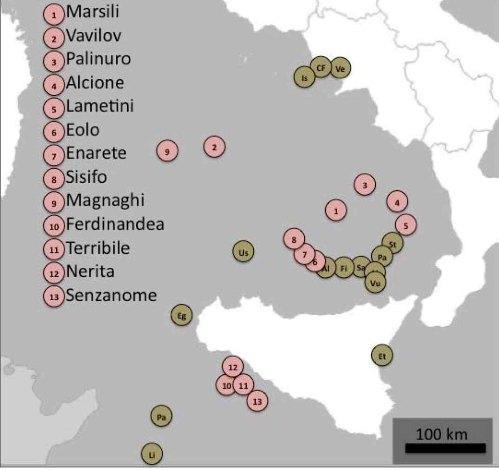 Cartina Italia Con Vulcani.Vulcani Sottomarini Italiani Cerchiamo Di Fare Chiarezza