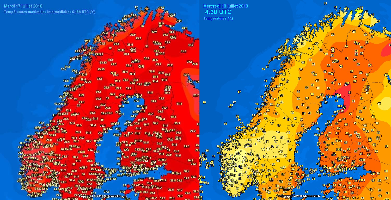 Eccezionale Ondata Di Caldo In Scandinavia Oltre 30c Di Massima E